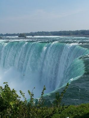 Niagara Falls-Canada ~ amazing, each time I go, the water is still falling over the cliff! LOL