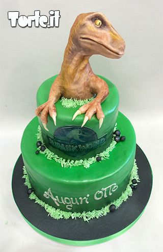 Jurassic World Cake - For all your cake decorating supplies, please visit craftcompany.co.uk