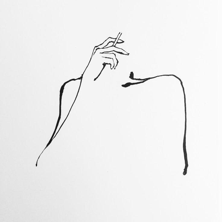 Les 25 meilleures id es concernant peinture de femme sur for Tableau minimaliste