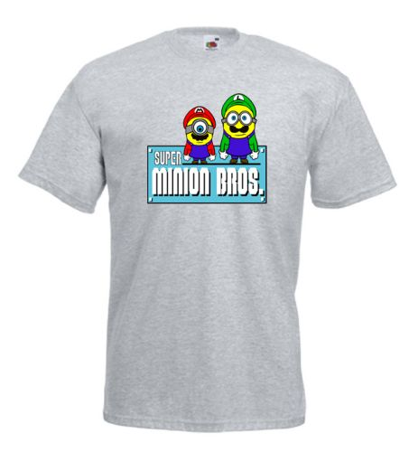 The #Minion Brothers - #Mario Parody #Despicable Me #Mens #Tshirt £11.99 #FREE Delivery