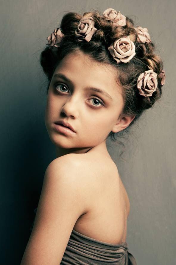 Kids model Sarah Princen by photographer Beppie Veldhuizen