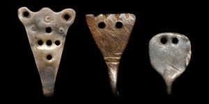 Anglo-Saxon Group of Silver Garter Hooks. Timelines Auction
