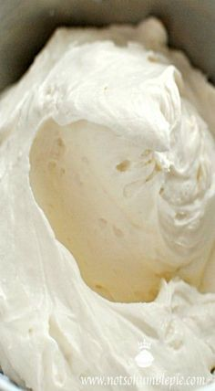 Cinnabon frosting - cream cheese frosting. Perfect on cakes, rolls, brownies and more. Make it at home.