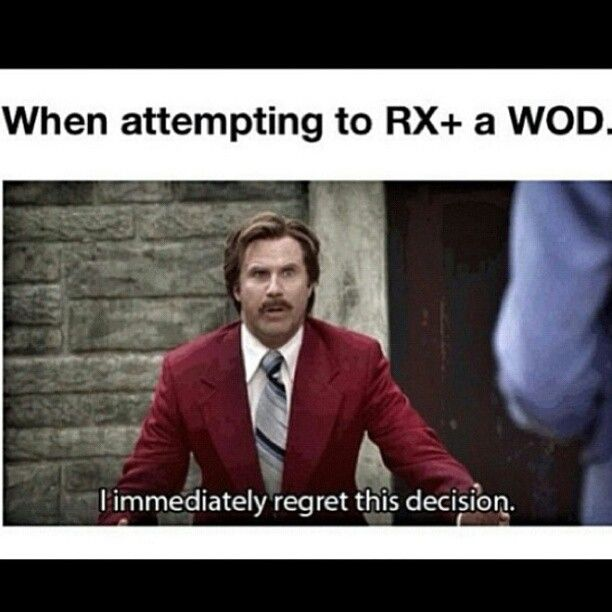 Anchorman CrossFit Meme