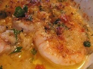 DE JONGHE'S ORIGINAL RECIPE: (FIRST PRINTED IN 1947) -  It's a fairly simple dish consisting of whole peeled shrimp cooked in individual serving dishes swimming in garlic butter and topped with fine bread crumbs and then broiled. *De Jonghe Hotel on Chicago's Monroe Street first served this dish in the 1920s.
