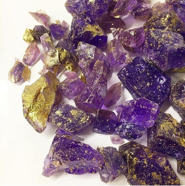 Amethyst rock candy - 90 grams from SucreChocolates on Etsy Studio