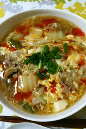【15分で簡単★本格】サンラータン麺の画像
