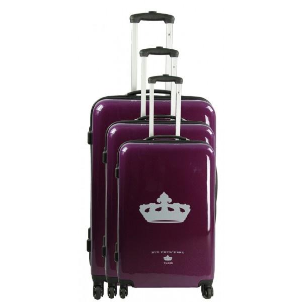 Rue princesse - Set de 3 valises trolley Berenice