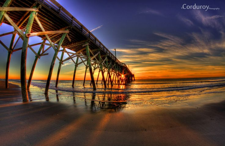 Beautiful Myrtle Beach sunrise picture by Corduroy Photography.