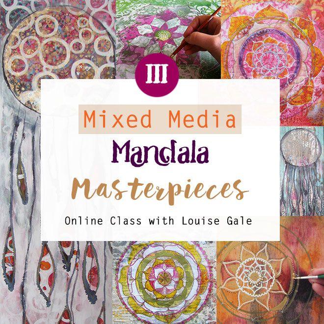 Mixed Media Mandala masterpieces