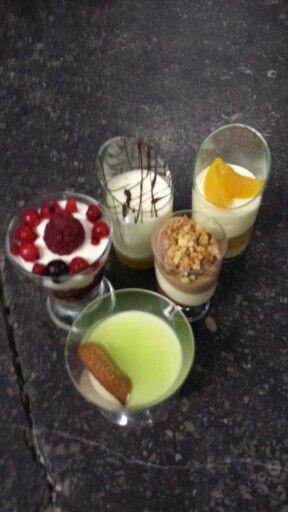 Dessert glaasjes