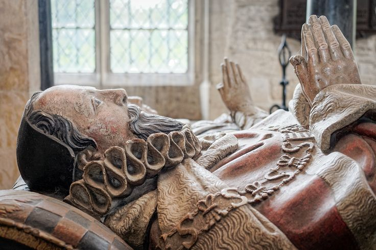 Sir Lawrence Tanfield (c. 1551 to 1625), from his fine monument in the church of St John the Baptist in Burford. Sir Lawrence, who was educated at Eton College and the Inner Temple, was one of the era's most successful lawyers and politicians, rising to become a judge and Lord Chief Baron of the Exchequer from 1607 to 1625 as well as MP for Woodstock and a knight of the shire for Oxfordshire from 1604.  Tanfield bought Burford Priory in 1586, where in 1603 he entertained King James I, and…