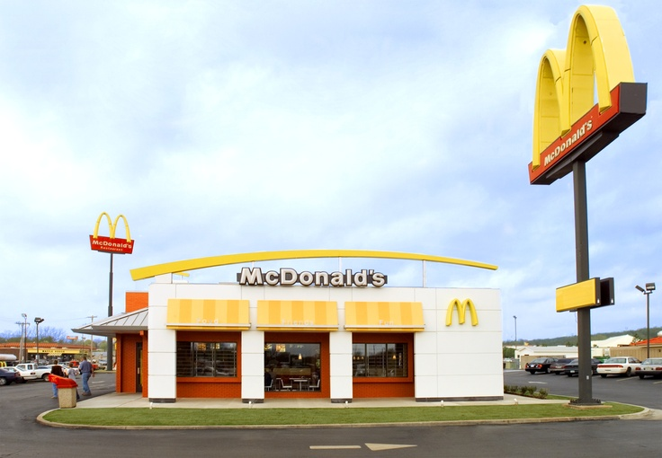 27 best images about mcdonald 39 s mcdrive s around the for Mcdonalds exterior design