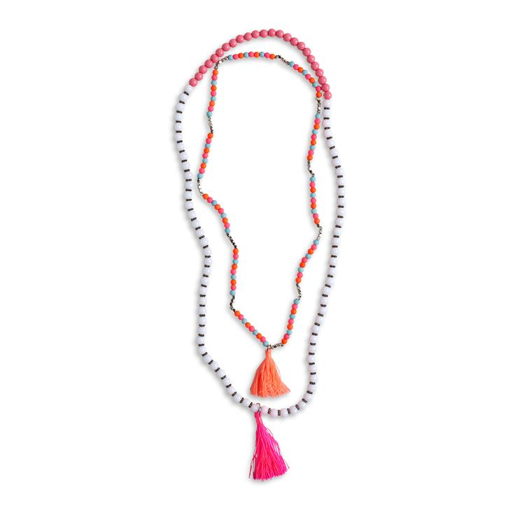 2-pack halsband, Rosa, Flick 128-170 cl, Barn | Lindex