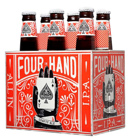 Saw this the other day at the store - Loved the design - will have to try it.. Four in the Hand