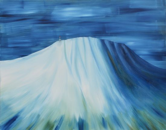 """★ """"UNDERTONER"""" - a piece from the """"Gaustatoppen"""" collection.  FROM $23 - NOW AVAILABLE AT: ★ http://society6.com/ms_thomassen/prints ★   mountains/ nature/ wildlife/ abstract/ blue/ Nordic/ Scandinavian/ interior/ design/art/ oil painting/ illustration/ frame @MS_THOMASSEN"""