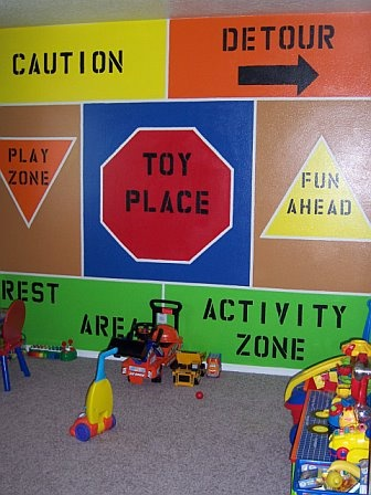 84 best vbs under construction images on pinterest for Boys construction bedroom ideas