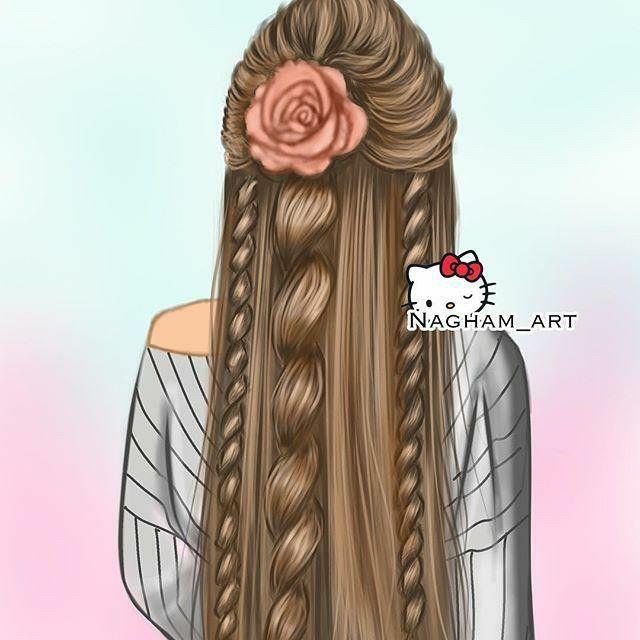 Pin By Arissa On Girly Art Girly Drawings Girls Cartoon Art Best Friend Drawings