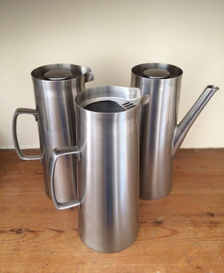 'Super Avon' trio. Vacuum flask, coffee pot & water pitcher