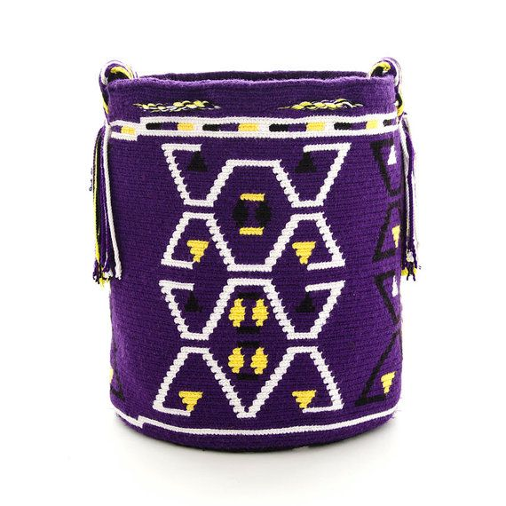 Wayuu Bag Wayuu Mochila Handmade Authentic by ColombianMadeShop