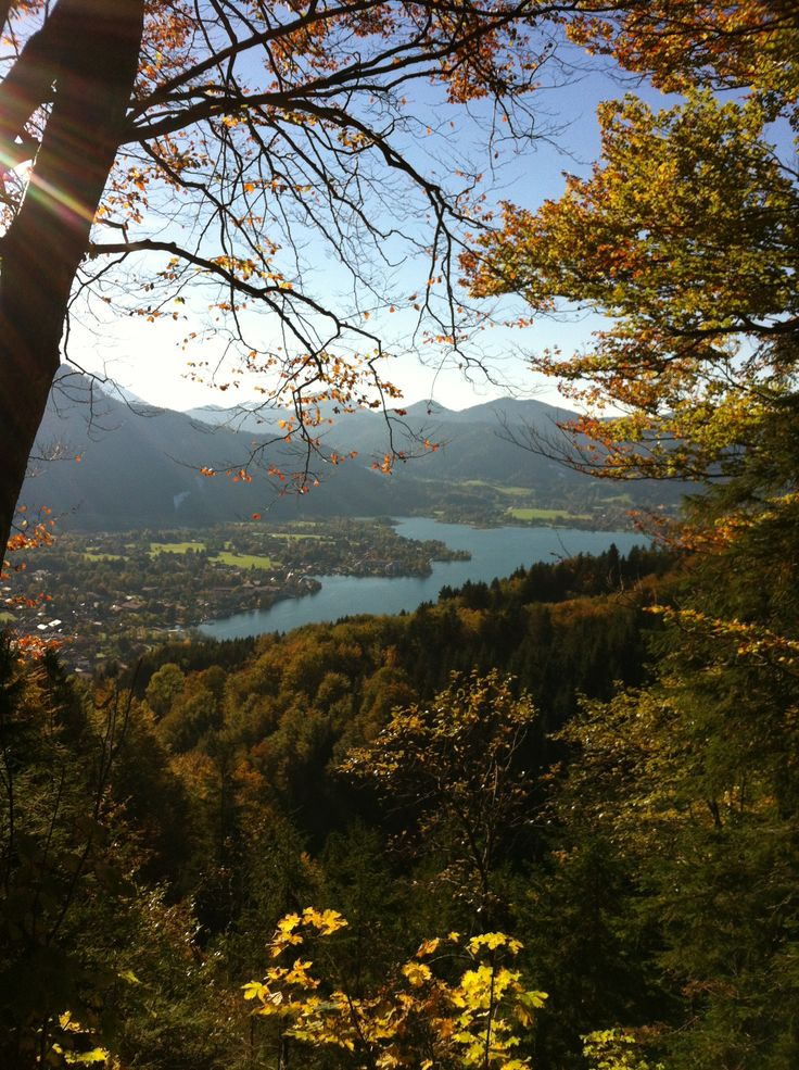 The Tegernsee Valley in Bavaria, Germany, is located 50 kilometers southeast of München and one hour by car. It is a yearround tourist destination. <3 Video: https://www.youtube.com/watch?v=5khVcsKMI80
