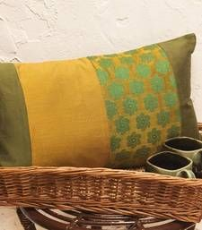 Buy Cushion covers - Mustard long  pillow-cover online