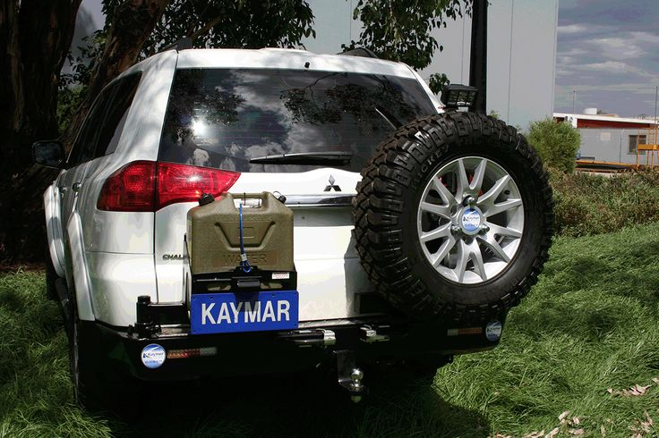 Kaymar Rear Bars, Spare Wheel Carriers, Jerrycan Holders & Accessories Challenger PB and PC