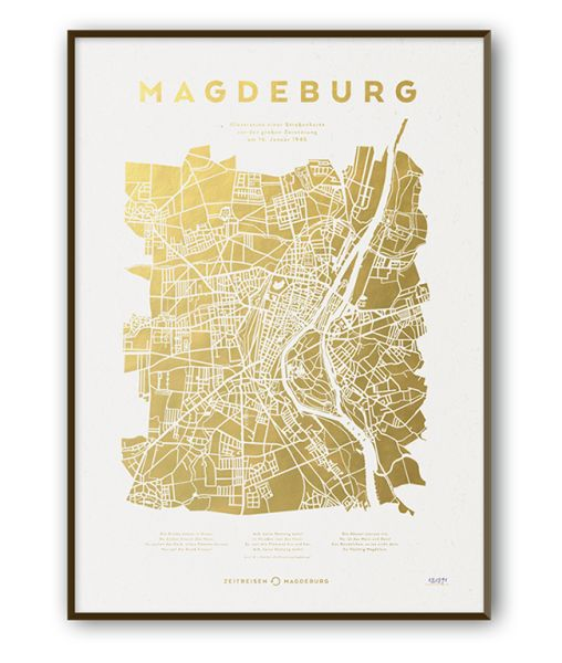 Typoposter Magdeburg