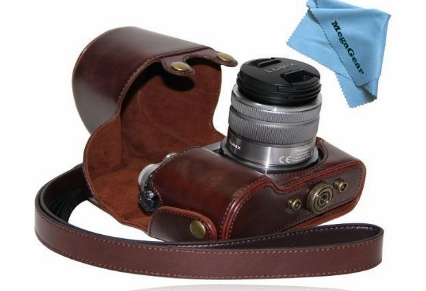 MegaGear ``Ever Ready`` Protective Dark Brown Leather Camera Case , Bag for Panasonic LUMIX GX7 with 14-42mm  No description (Barcode EAN = 0028672139668). http://www.comparestoreprices.co.uk/camera-lenses/megagear-ever-ready-protective-dark-brown-leather-camera-case--bag-for-panasonic-lumix-gx7-with-14-42mm-.asp