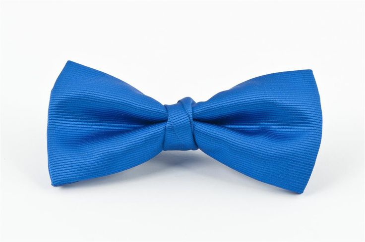 Royal Self Stripe Bow Tie