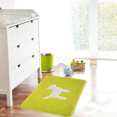 Smartcatcher Mat Dog Modern Door Mat Color: Lemon Lime