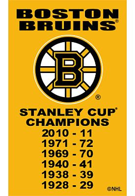 THE Stanley Cup Champion Boston Bruins:)