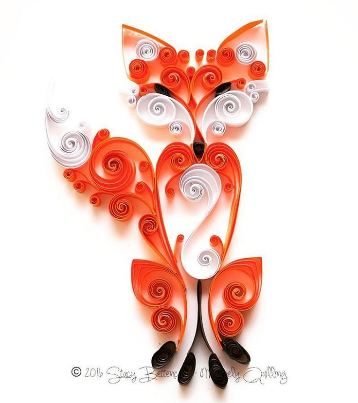 25 best ideas about quilling animals on pinterest for Quilling patterns for beginners