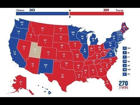 The Best Presidential Election Predictions Ideas On - Us electoral map interactive