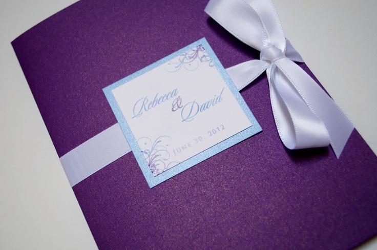 WEDDING BOOKLET PROGRAMS. $4.00, via Etsy.