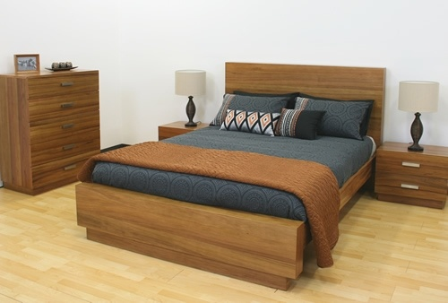The Savannah Bed- gorgeous timber and beautiful design