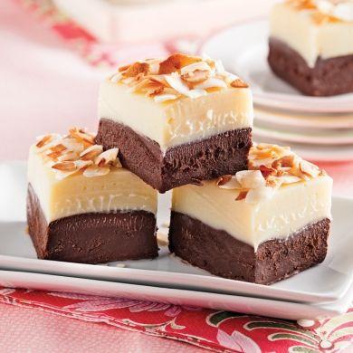 Fudge décadent choco et noix de coco - Recettes - Cuisine et nutrition - Pratico Pratique
