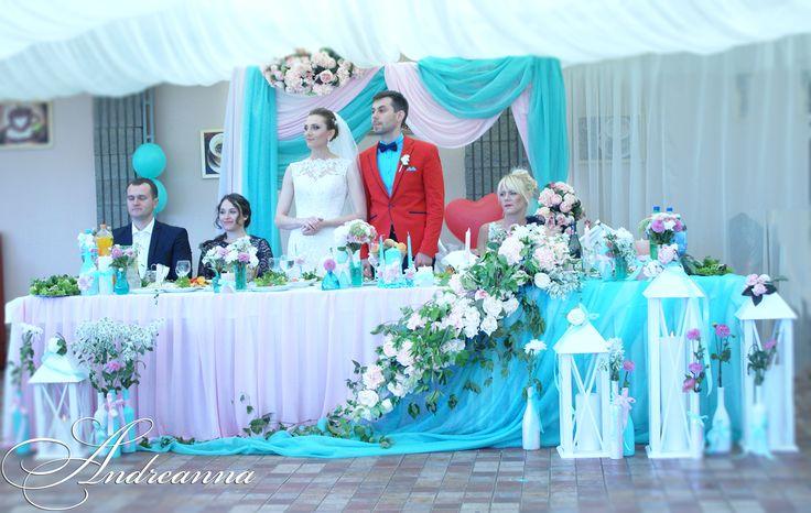 """Разработка свадебной концепции, создание декора, разработка и создание свадебных атрибутов, аксессуаров, оформление выездной церемонии и банкетного зала, флористика, фото, проведение, муз. Сопровождение : DS """"ANDREANNA"""","""