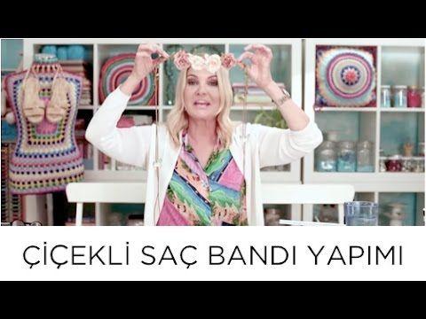 Deri İpli Çiçekli Saç Bandı Nasıl Yapılır | Derya Baykal - YouTube