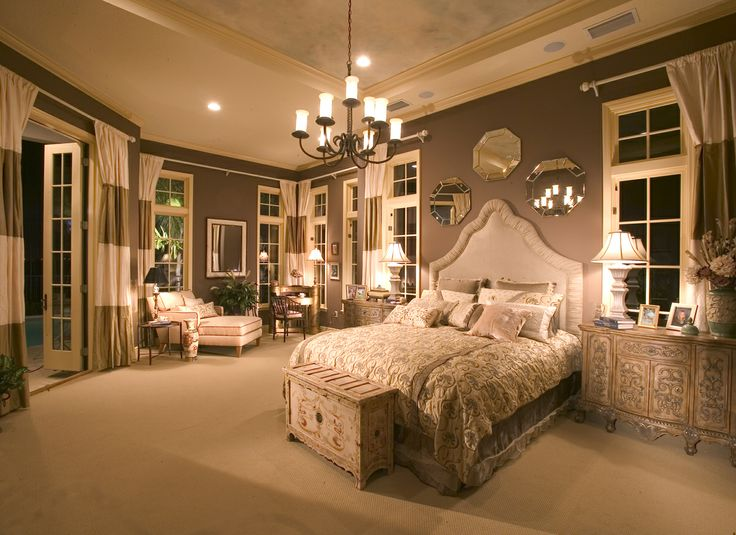 Master Suite with soft chocolate painted walls at The Camira model by John Cannon Homes.