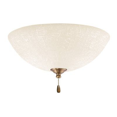 Emerson Electric LK83 3 Light White Linen Fan Light Kit