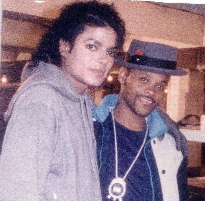 All American Talent Judge/Instructor Kenny Still with MJ