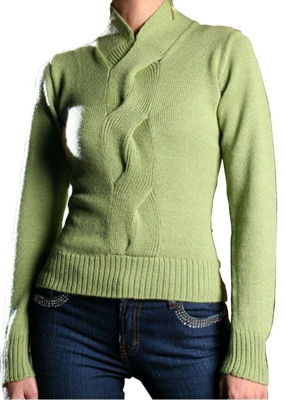 **Vintersalg**Vakker genser laget i 100% babyalpakka