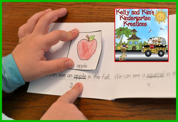 Fun in the Fall!Interactive book with predictable text for your emergent readers...FREEBIE!