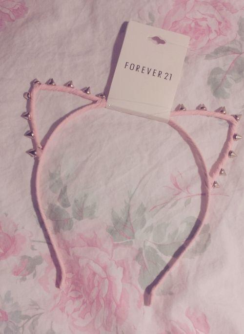 I really want a kitty eared headband, even though I don't like cats. :)