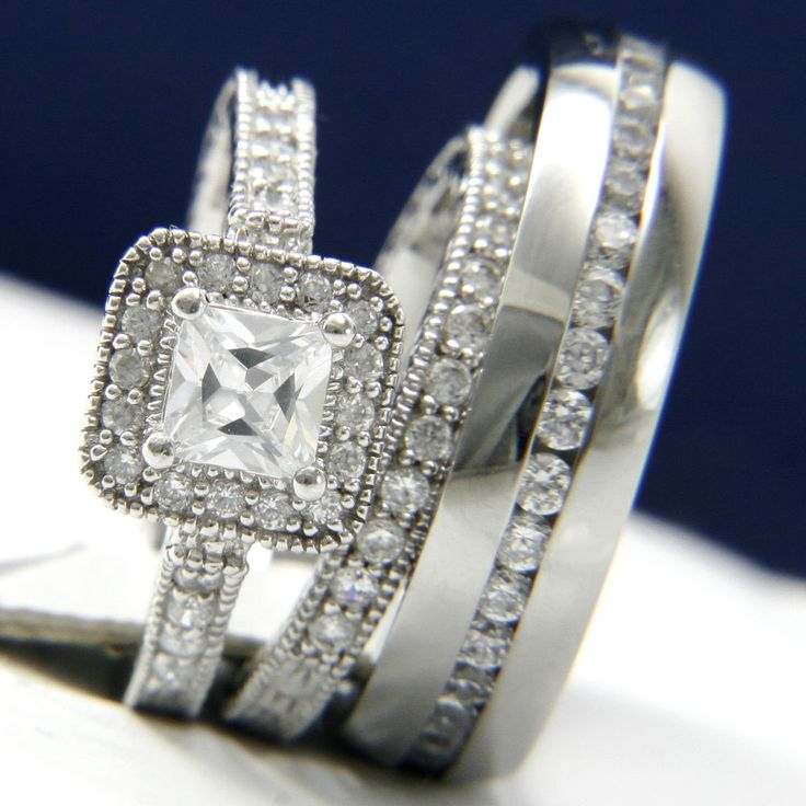 24 best wedding ring sets images on bridal rings