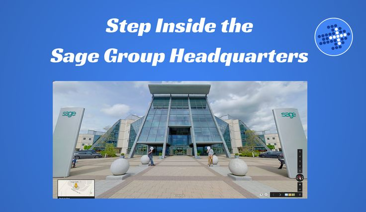 Google Business View: Step Inside the Sage Group Headquarters