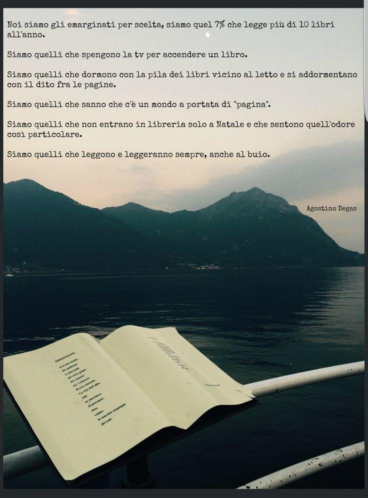 Dedicato a tutti noi lettori  -  Salve a tutti Amici di penna, sono Calvellina e da oggi sarò la vostra consigliera e confidente in fatto di libri e di lettura. Leggere, e da un po' di tempo anche scrivere, sono per me due passioni che mi accompagnano in tanti momenti delle mie giornate e della ...