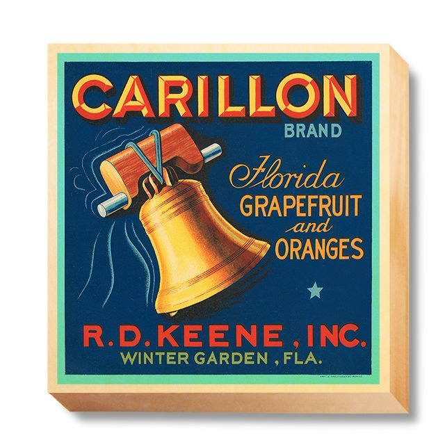 LAB 042 Crate Label Carillon Brand