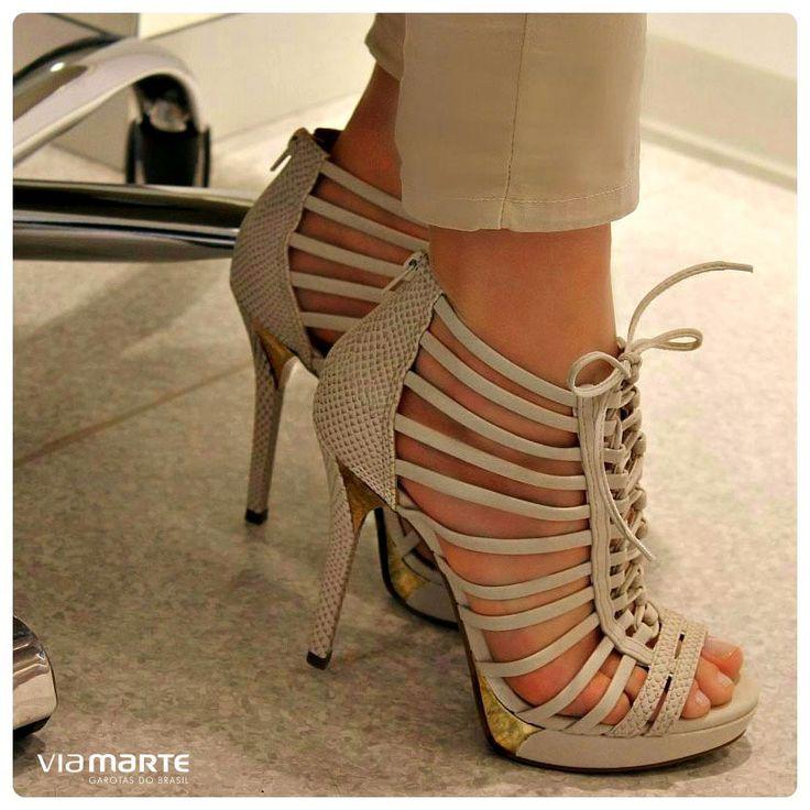 nude - heels - salto alto - party shoes - Ref. 14-19007 - verão 2015